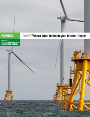 photo of cover of 2018 offshore wind market report
