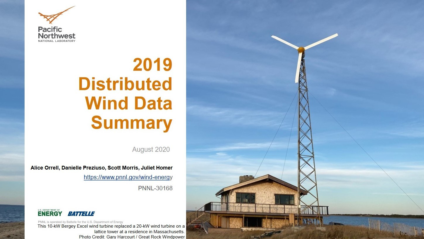 2019 Distributed Wind Data Summary cover