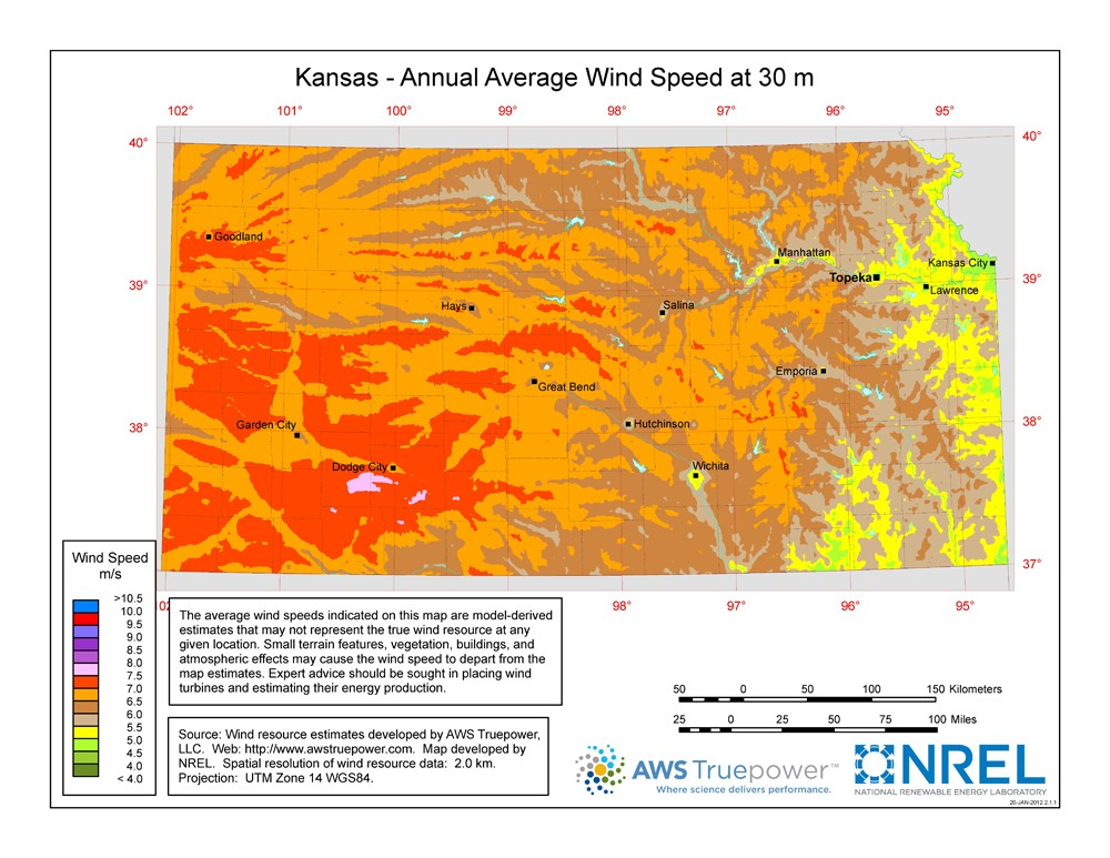 Windexchange Kansas 30 Meter Residential Scale Wind
