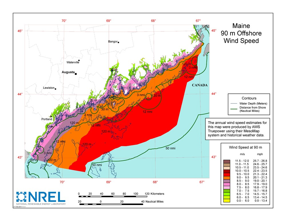 WINDExchange Wind Energy Maps And Data - Us wind energy map