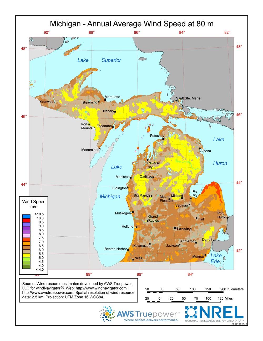 Windexchange Wind Energy In Michigan