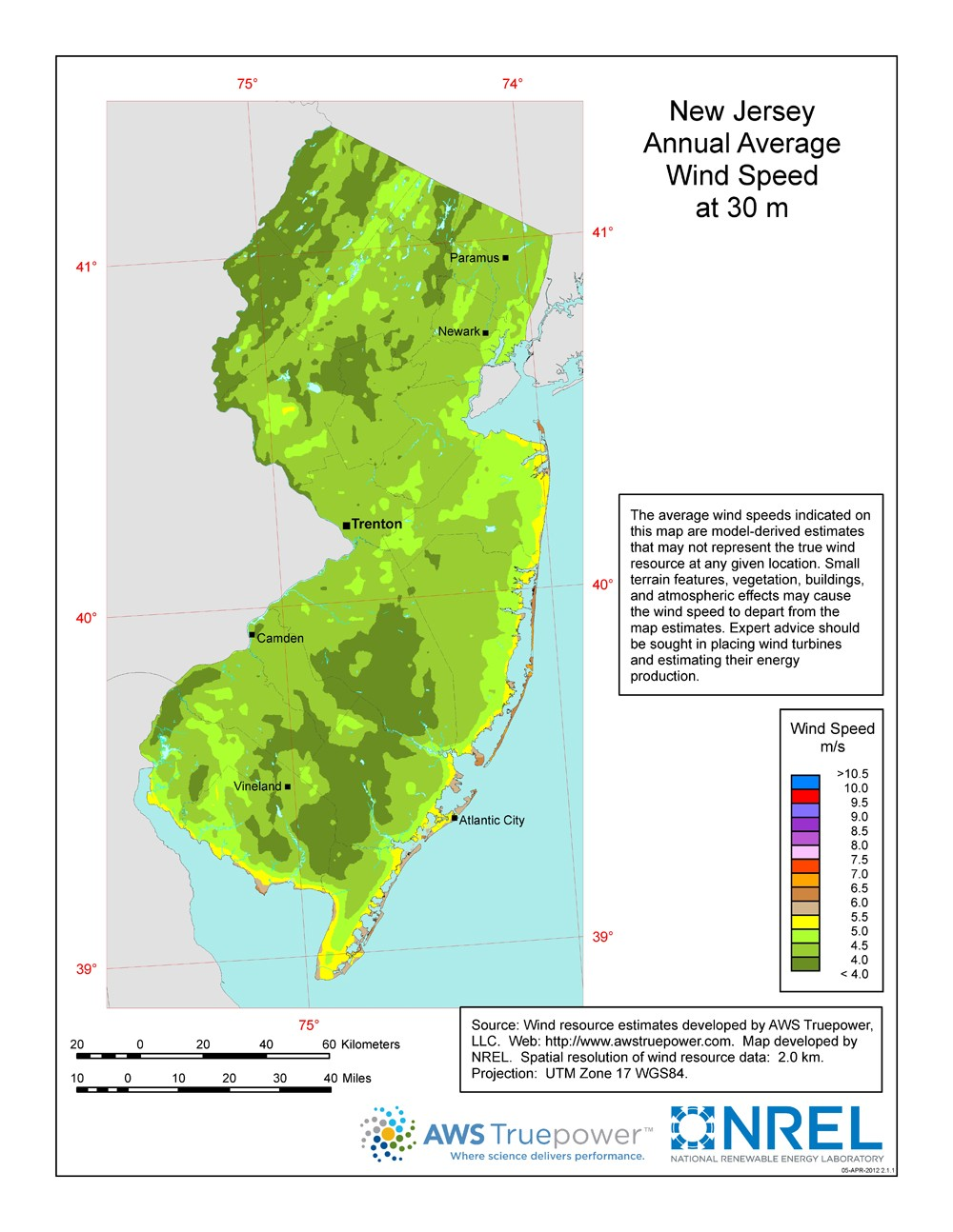 Natural Resources Of New Jersey