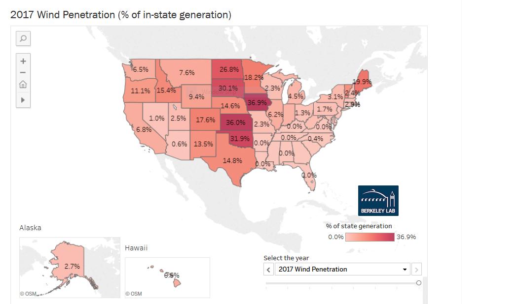 WINDExchange: Wind Energy Maps and Data